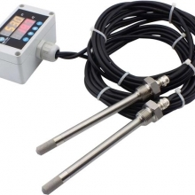 INDİCATED, WİRED, DUAL SENSOR, STAİNLESS STEEL PROBE, FİLTERED TEMPERATURE HUMİDİTY TRANSMİTTER